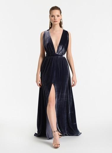 Meltem Özbek Elbise Gri